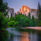Yosemite Valley. Captured minutes before sunset in June 2014.