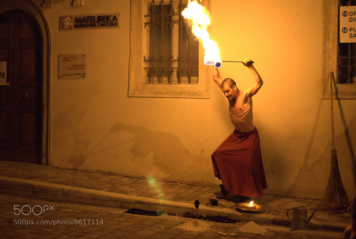 Photograph Fire Dancer by Sergio Scarpellini on 500px