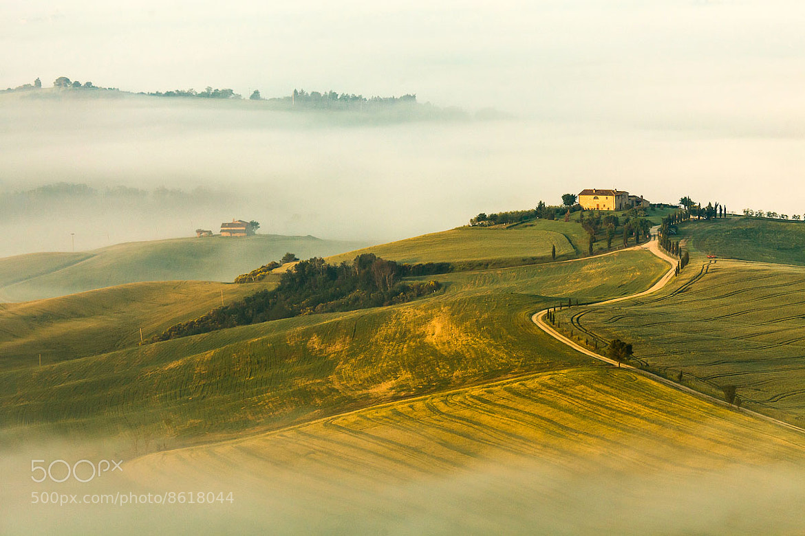 Photograph Morning In Pienza by Gleb Tarro on 500px