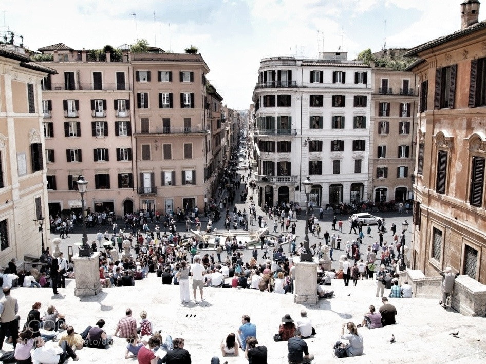 Photograph Spanish steps ROME by Pablo Miles on 500px