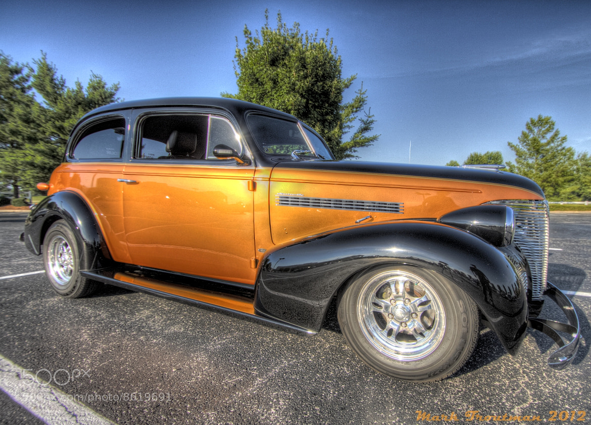 Photograph Hot Rod Orange by Mark T on 500px