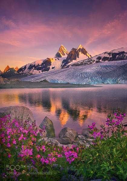 Photograph Glacier Peaks by Marc  Adamus on 500px