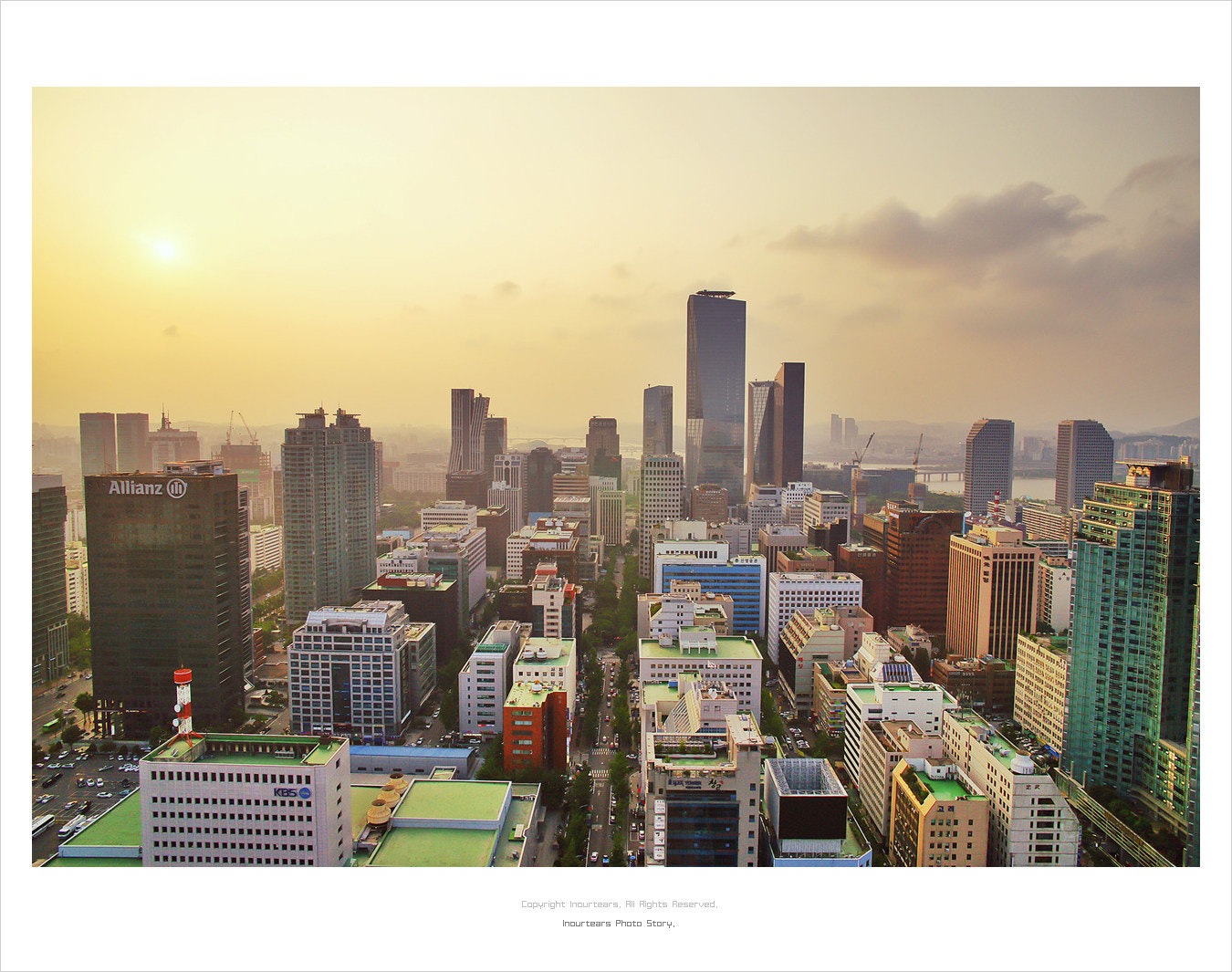 Photograph Sunset of the city by Jungmin Oh on 500px