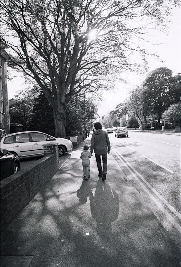 Walking back home