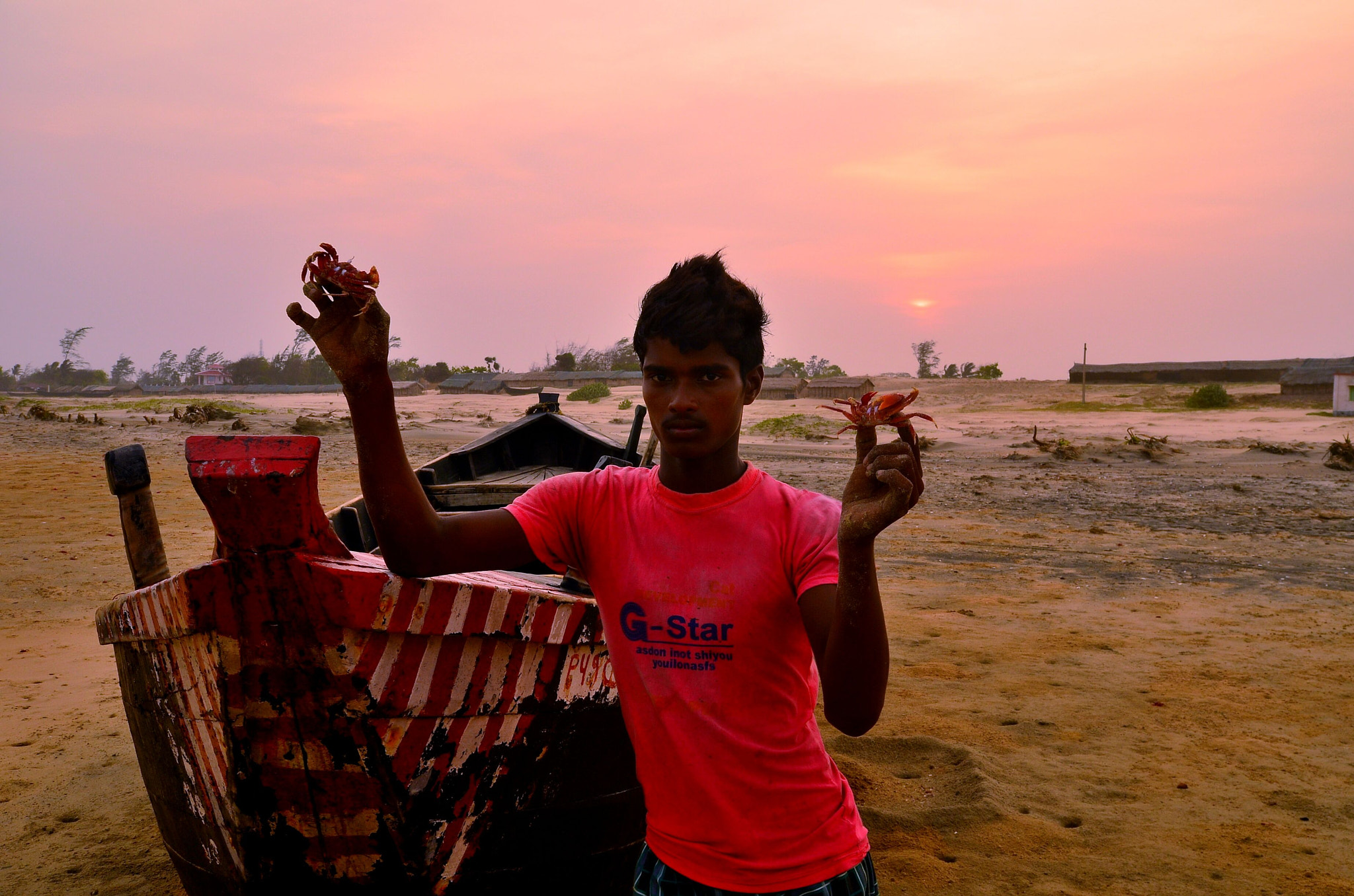 Photograph Red Crab Catcher! by Palash K on 500px