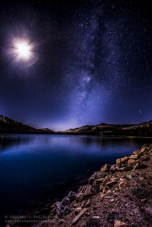 Moon & Milkyway