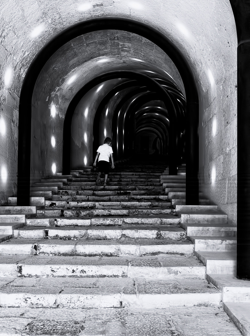 Photograph Into the tunnel by Stanley Azzopardi on 500px