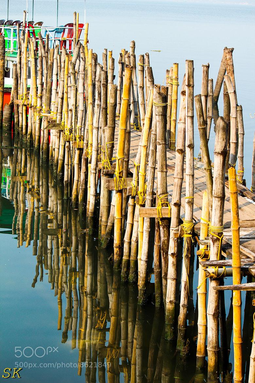 Photograph Bamboo way by Somakumaran A on 500px