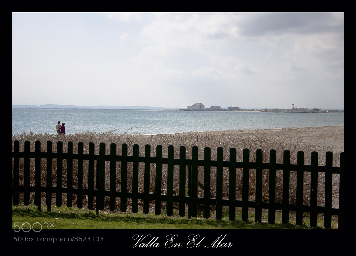 Photograph Valla en el mar by jose regaña on 500px