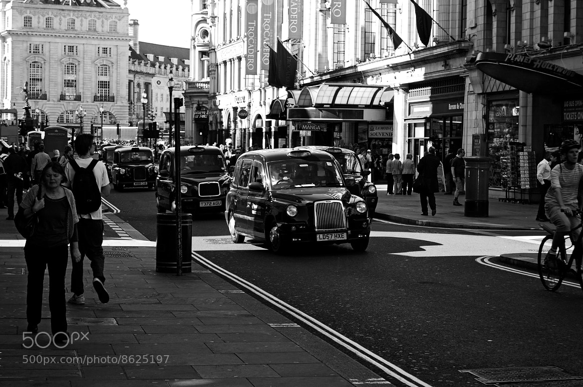 Photograph Haymarket St. by David Genovés on 500px