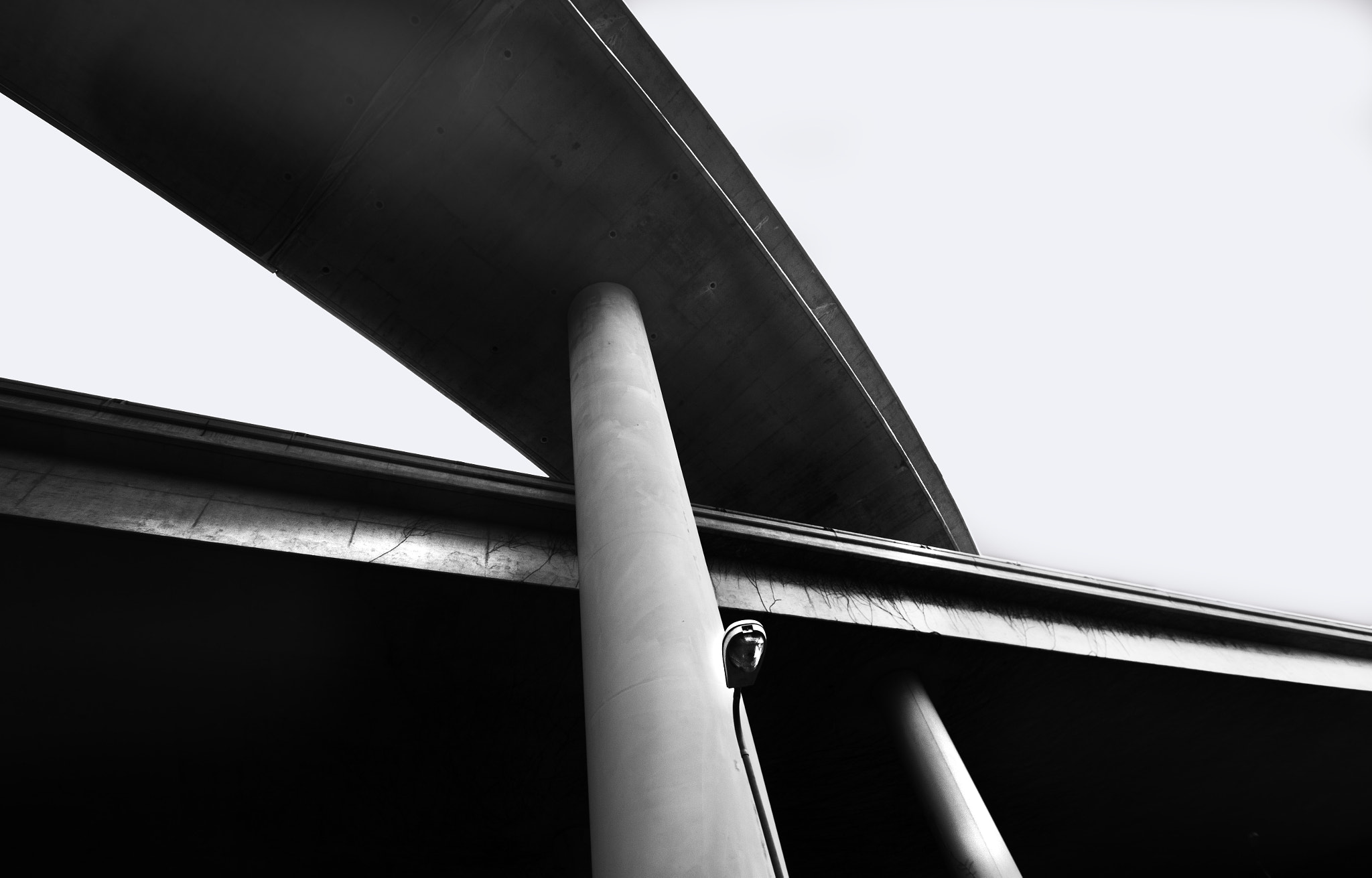 Photograph Overpass I (White) by Jason Moskowitz on 500px