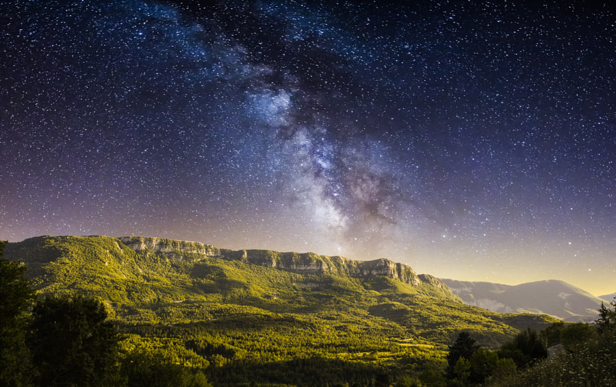Milky-way by James Rignault on 500px.com