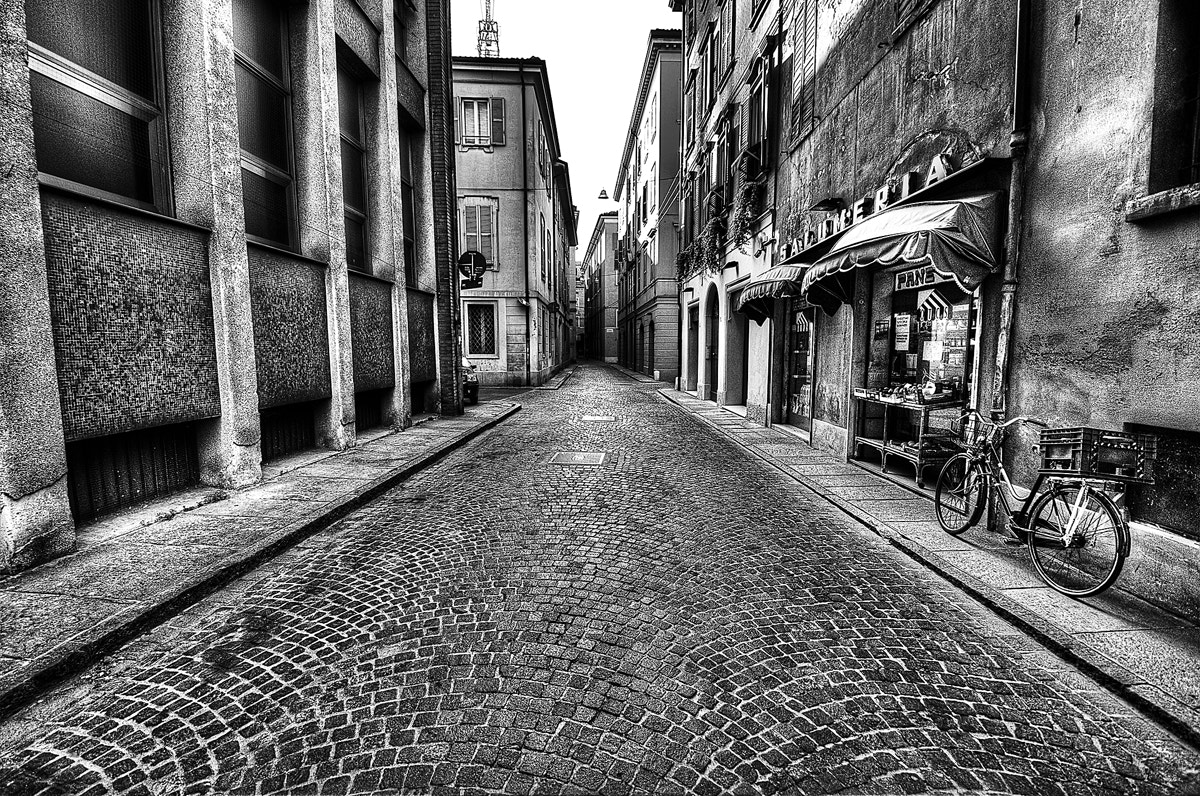 Photograph alone in the street by Antonio Cutrona on 500px