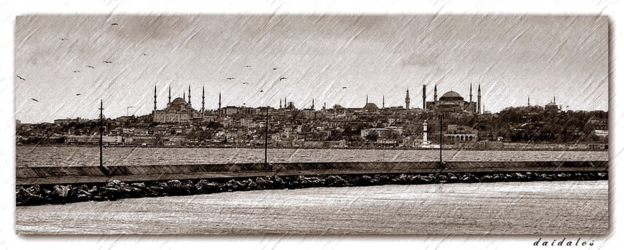 Photograph engraving city II by Levent Yersal on 500px