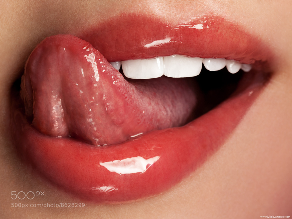 Photograph [ Tori's Lips ] by Julia Kuzmenko McKim on 500px