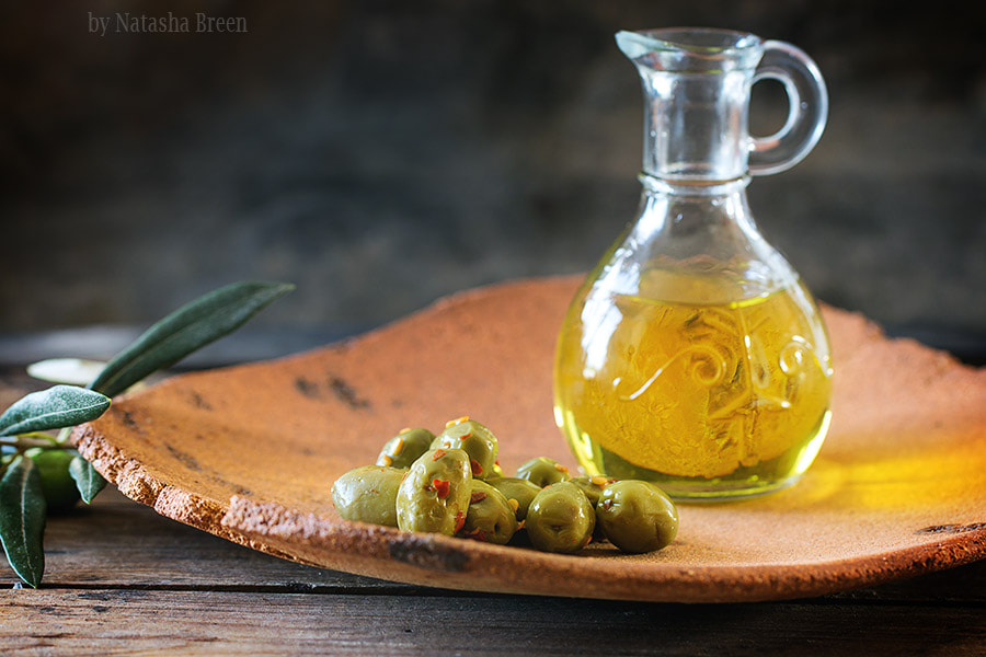 Olives and olive oil by Natasha Breen on 500px.com