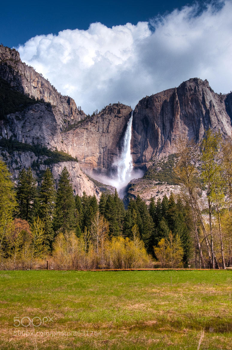 Photograph Yosemite Falls by Gordon Banks on 500px