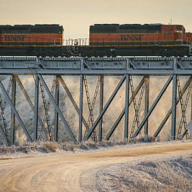 BNSF Winter Line