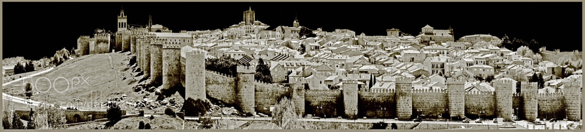 Photograph Avila - Spain  A view of the Walls by alberto laurenzi on 500px