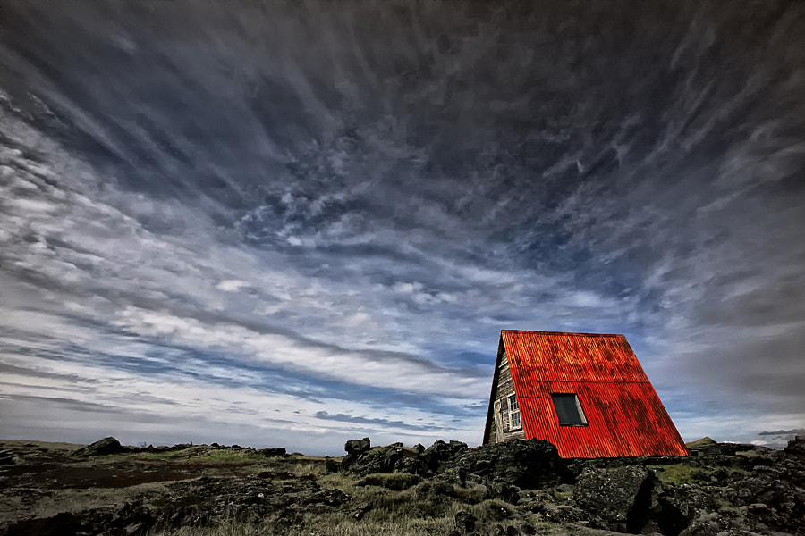Photograph Red Roof Cabin by Þorsteinn H Ingibergsson on 500px