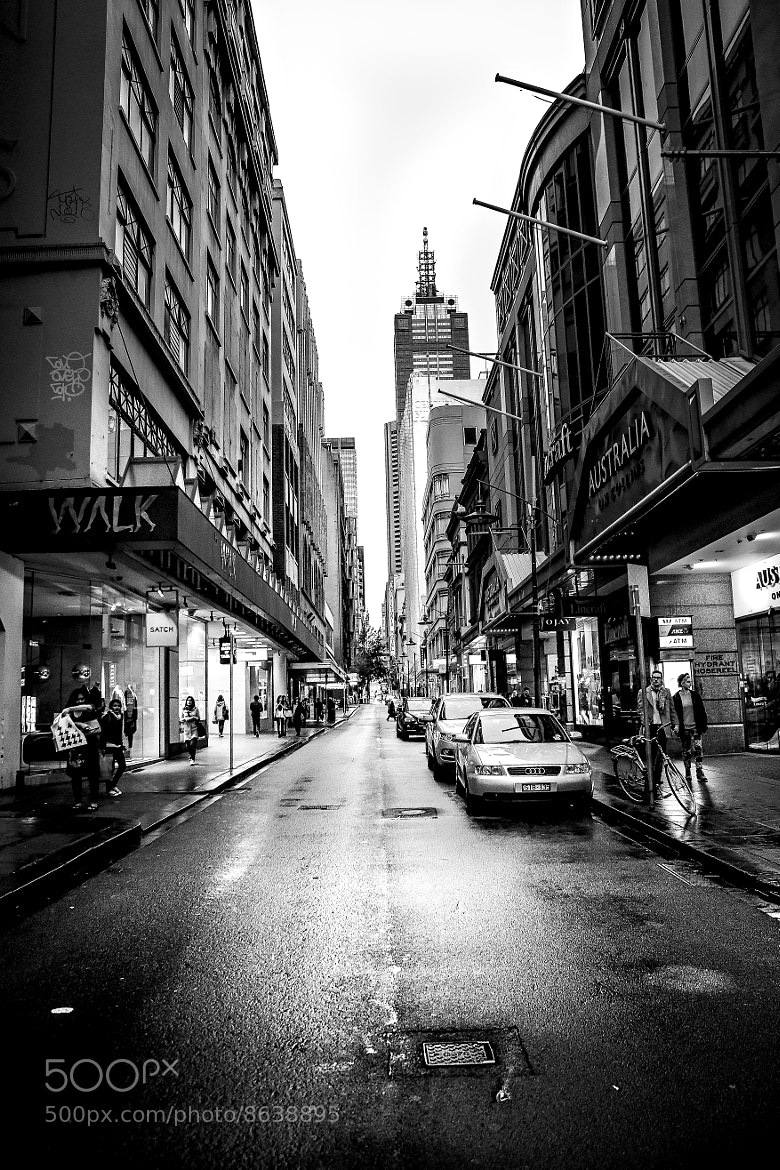 Photograph Little Collins Street by Thai Hoa Pham on 500px