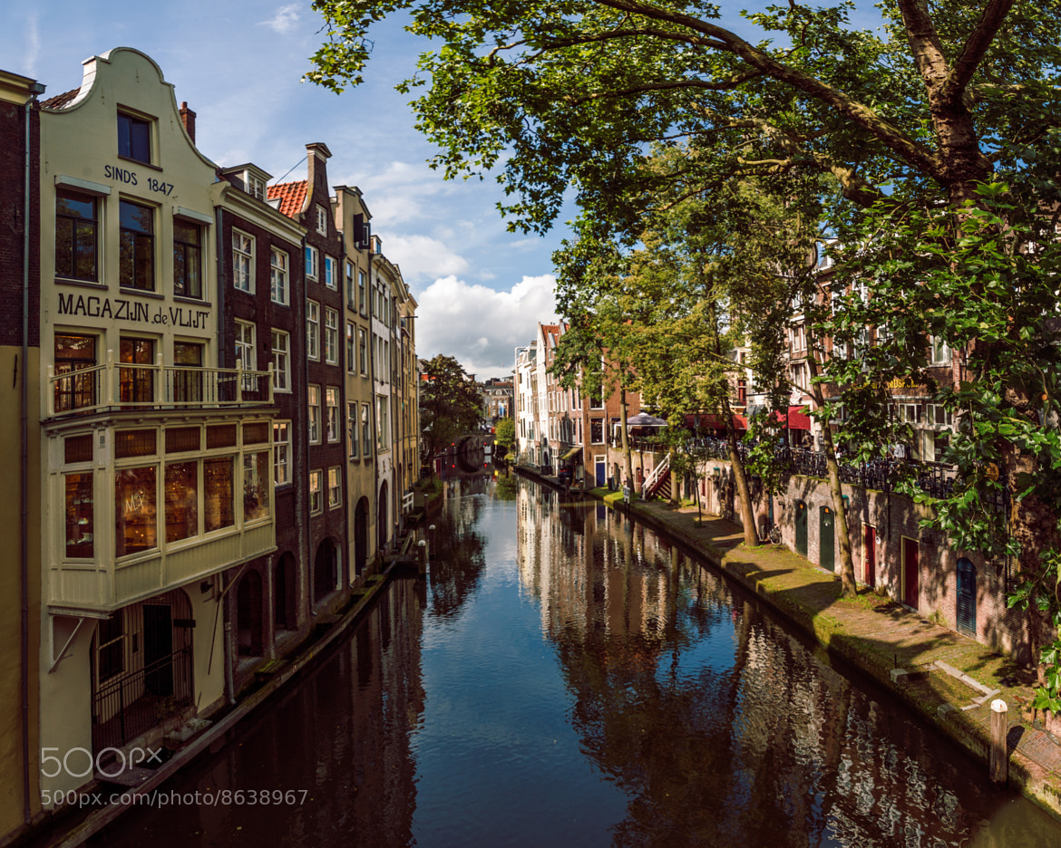 Photograph Oudegracht in Utrecht by Artem Sapegin on 500px