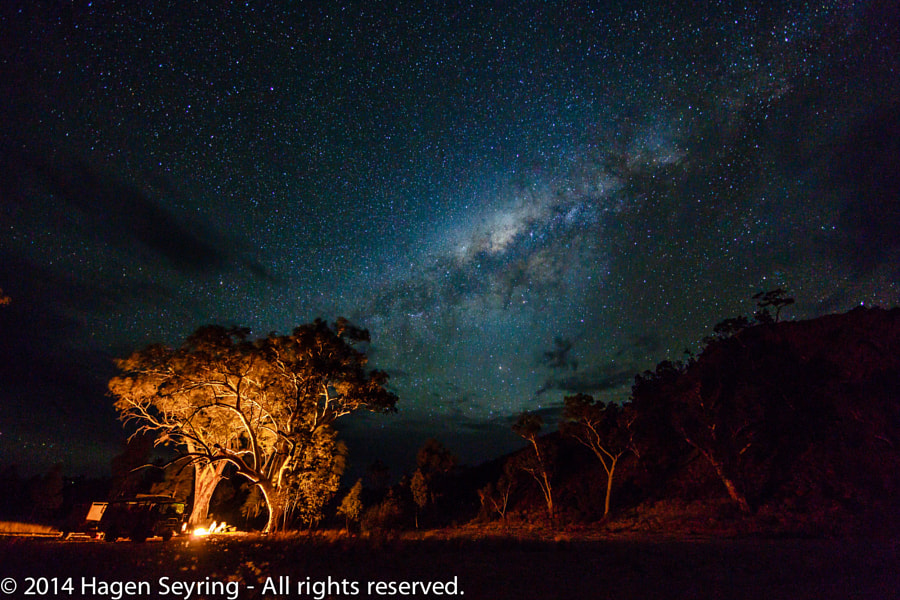 Photograph Camping in the real outback by Hagen Seyring on 500px