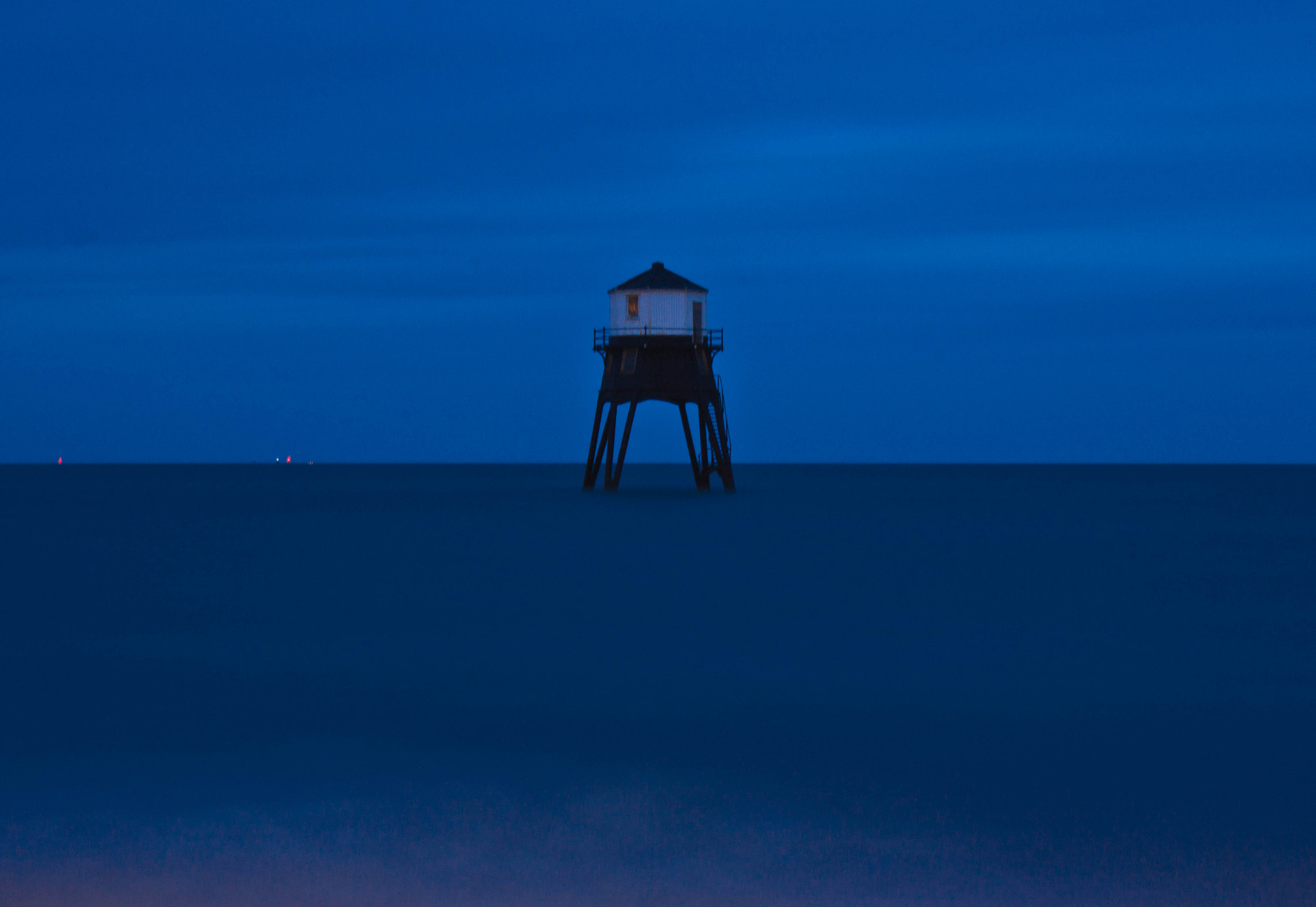 Photograph Lighthouse Lit with a Torch by Frankie Tildesley on 500px