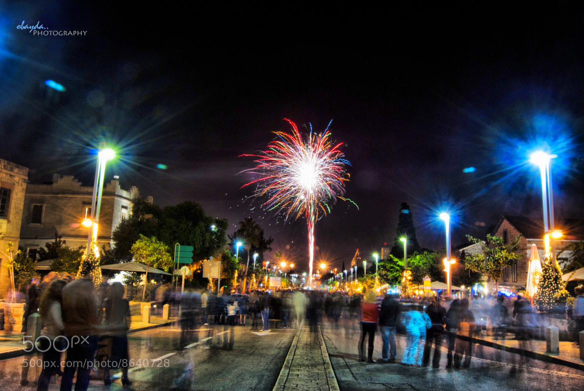Photograph New Year, 2012 by Obayda Jamal on 500px