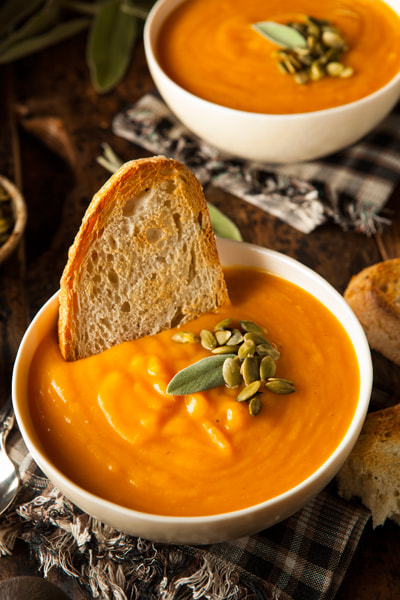 Photograph Homemade Autumn Butternut Squash Soup by Brent Hofacker on 500px