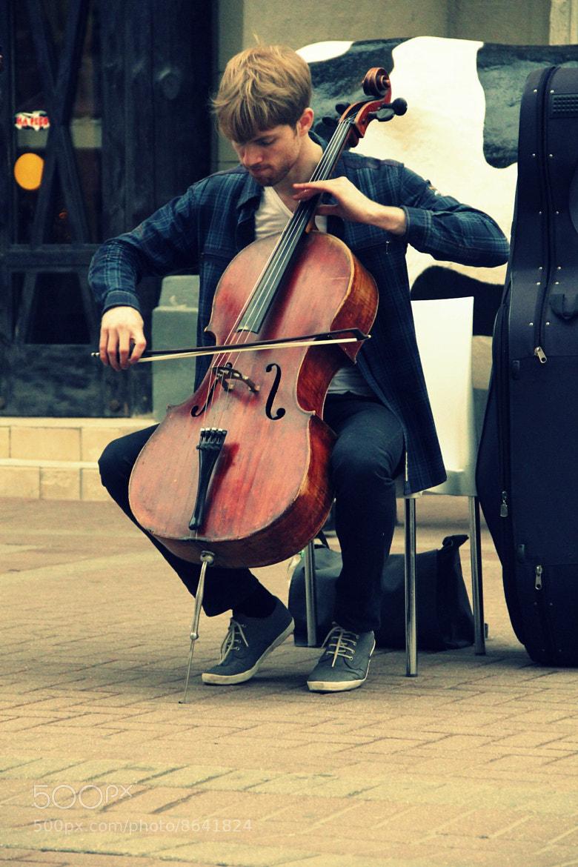 Photograph Cellist by Rita Rizvanova on 500px