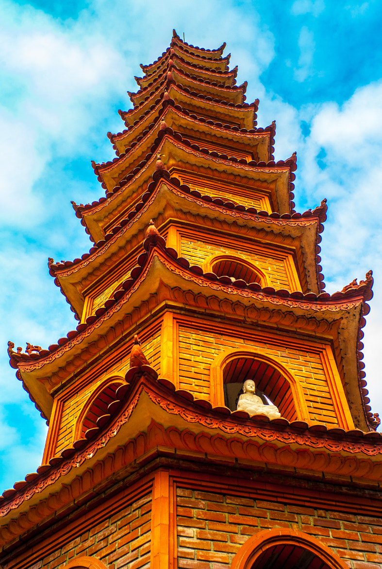Photograph Tran Quoc Pagoda by Kenneth Chong on 500px