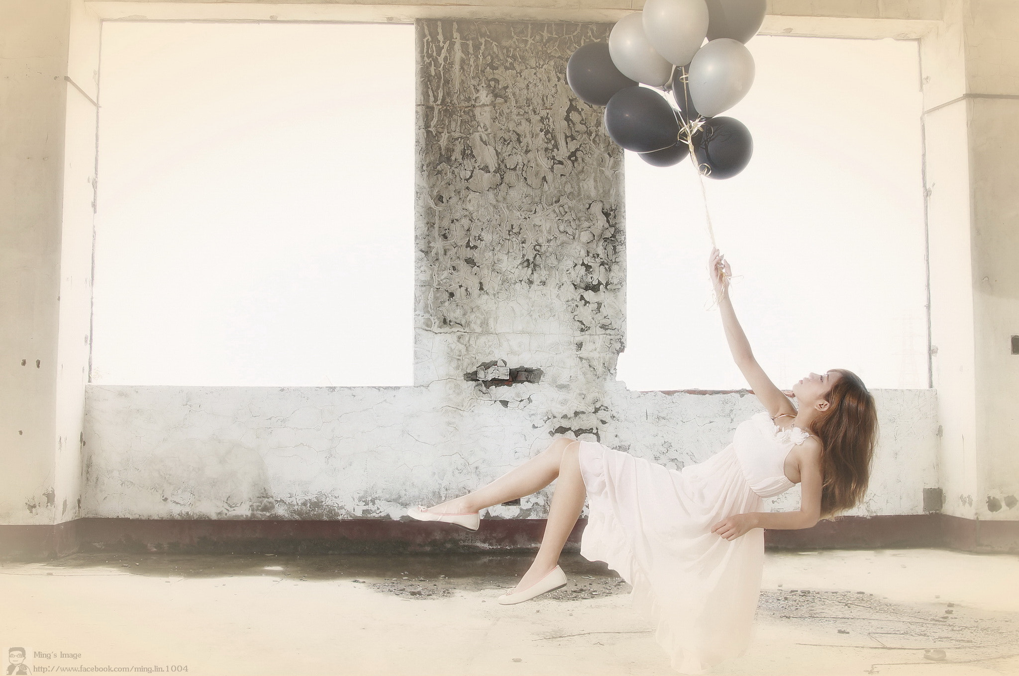 Photograph Floating girl by Ming Lin on 500px