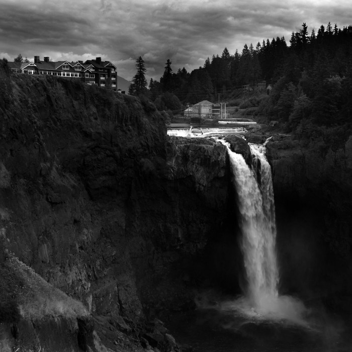 Photograph Snoqualmie Falls by Nathan Wirth on 500px