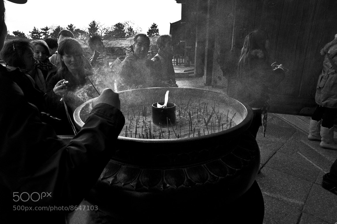 Photograph Candle prayer by Judy N. Adhitianto on 500px