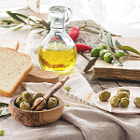 Постер, плакат: Lunch with olives