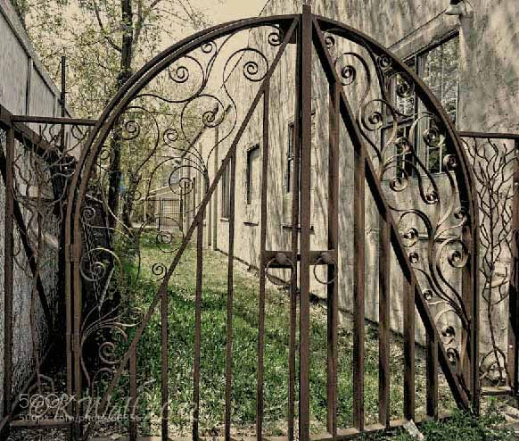 Photograph Gate  by Kerri Everson Watt on 500px