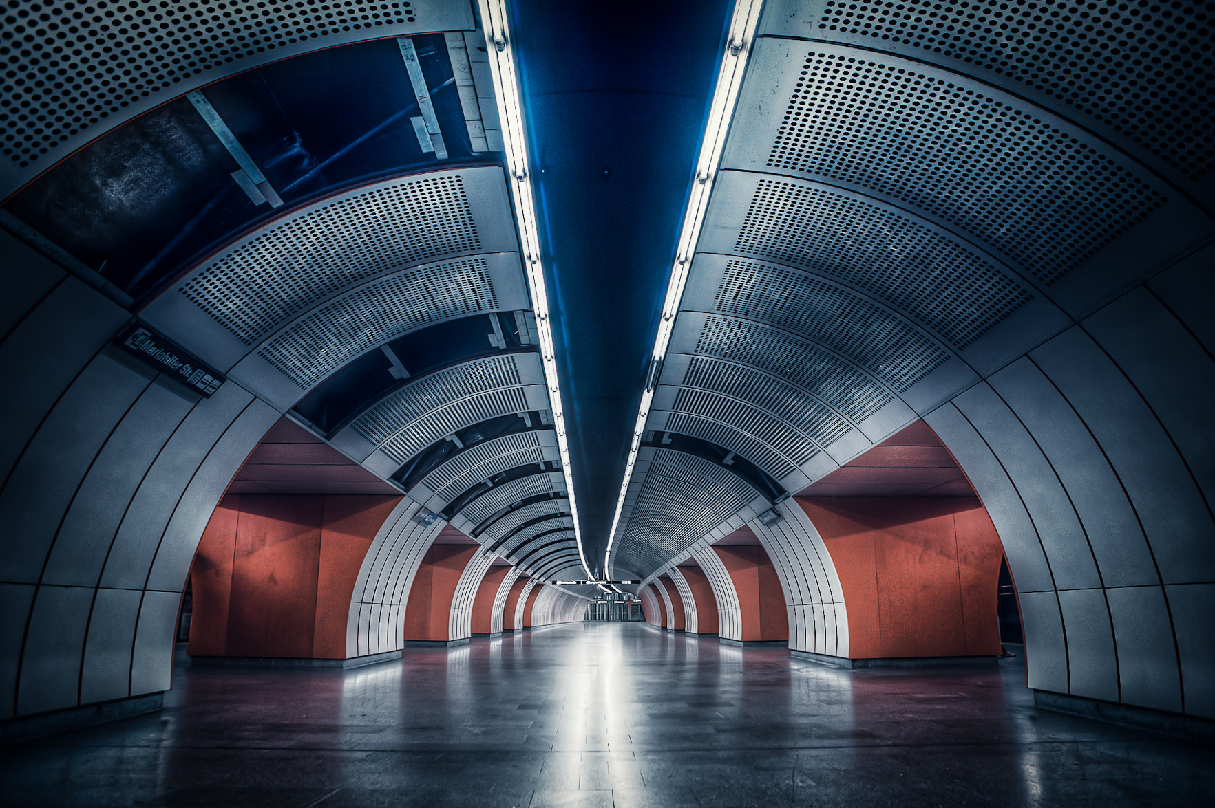 Photograph Wien subway by Tomas Pospichal on 500px