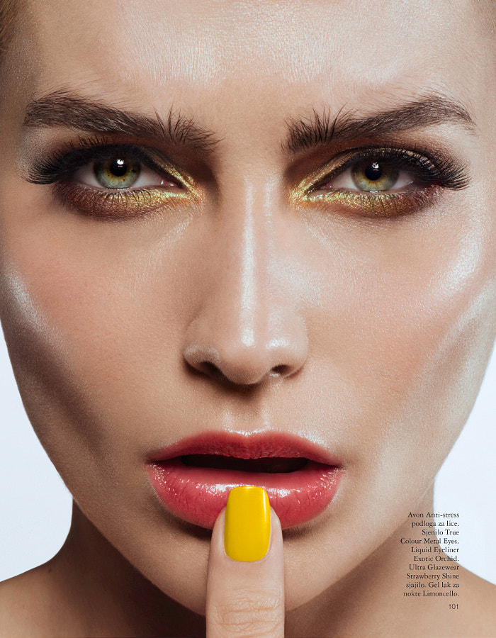 Grazia beauty August '14