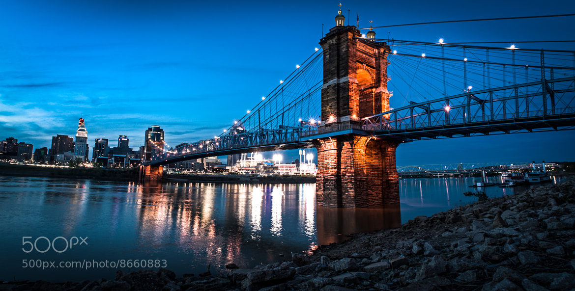 Photograph Looking toward Cincinnati from across the Ohio, Covington, KT by Craig Hudson on 500px