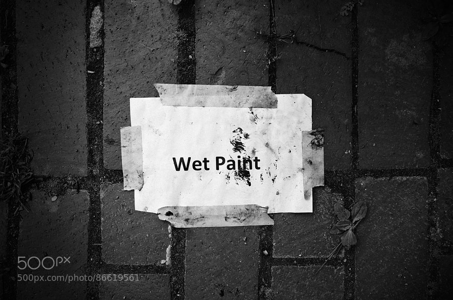 Photograph wet/dry by Instant Kamera on 500px