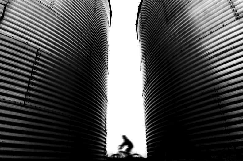 Photograph Crusing through Silos by Tal Roberts on 500px