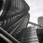 Постер, плакат: Petronas Towers Looking up