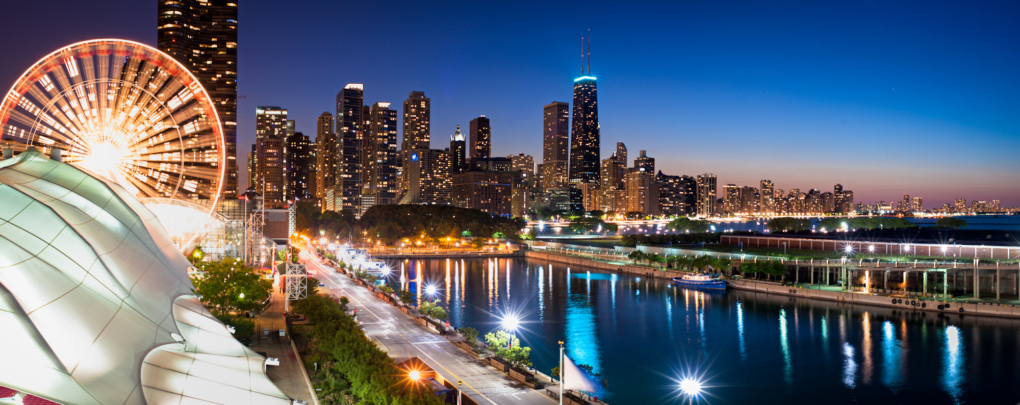 Photograph Downtown from Navy Pier, Chicago, IL by Craig Hudson on 500px