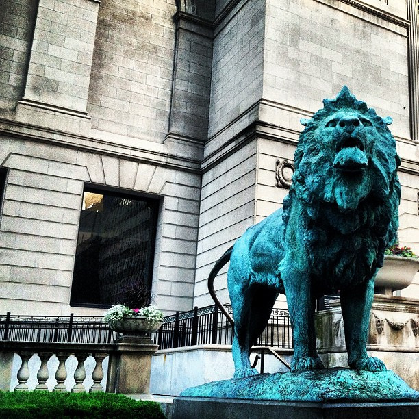 Photograph Lions of chicago by Wesley  Southerly on 500px