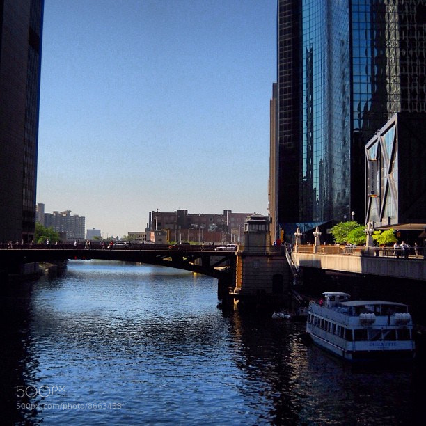 Photograph Chicago river by Wesley  Southerly on 500px
