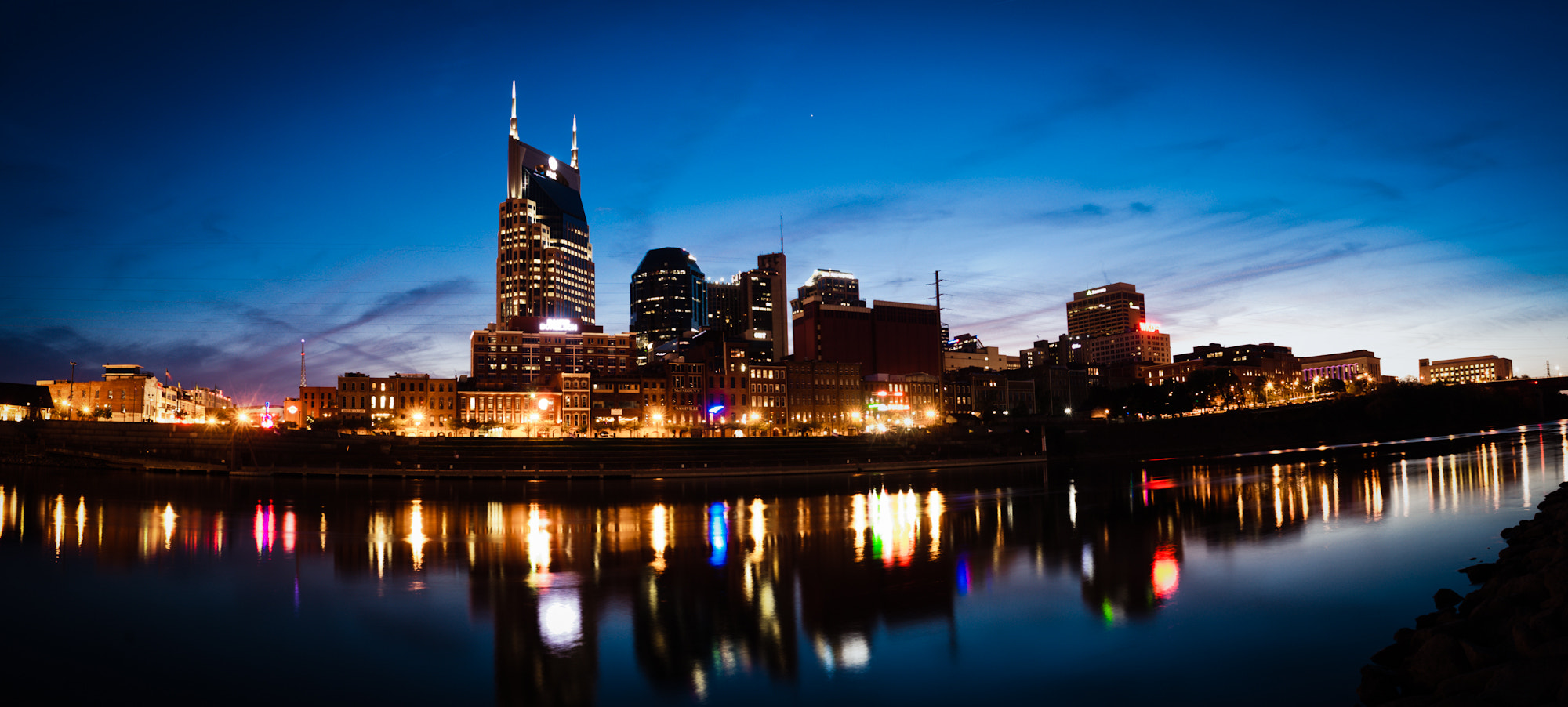 Photograph Downtown from across the Cumberland, Nashville, TN by Craig Hudson on 500px