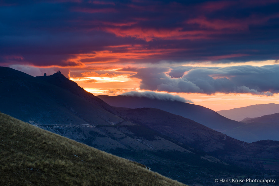 A wonderful morning after a night with lots of rain. This is my first morning in Abruzzo before the workshop group arrives today.  This photo was shot before the Abruzzo and Umbria October 2014 photo workshop.
