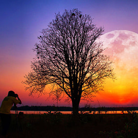 Moon by Chanwit Whanset (ChanwitWhanset)) on 500px.com