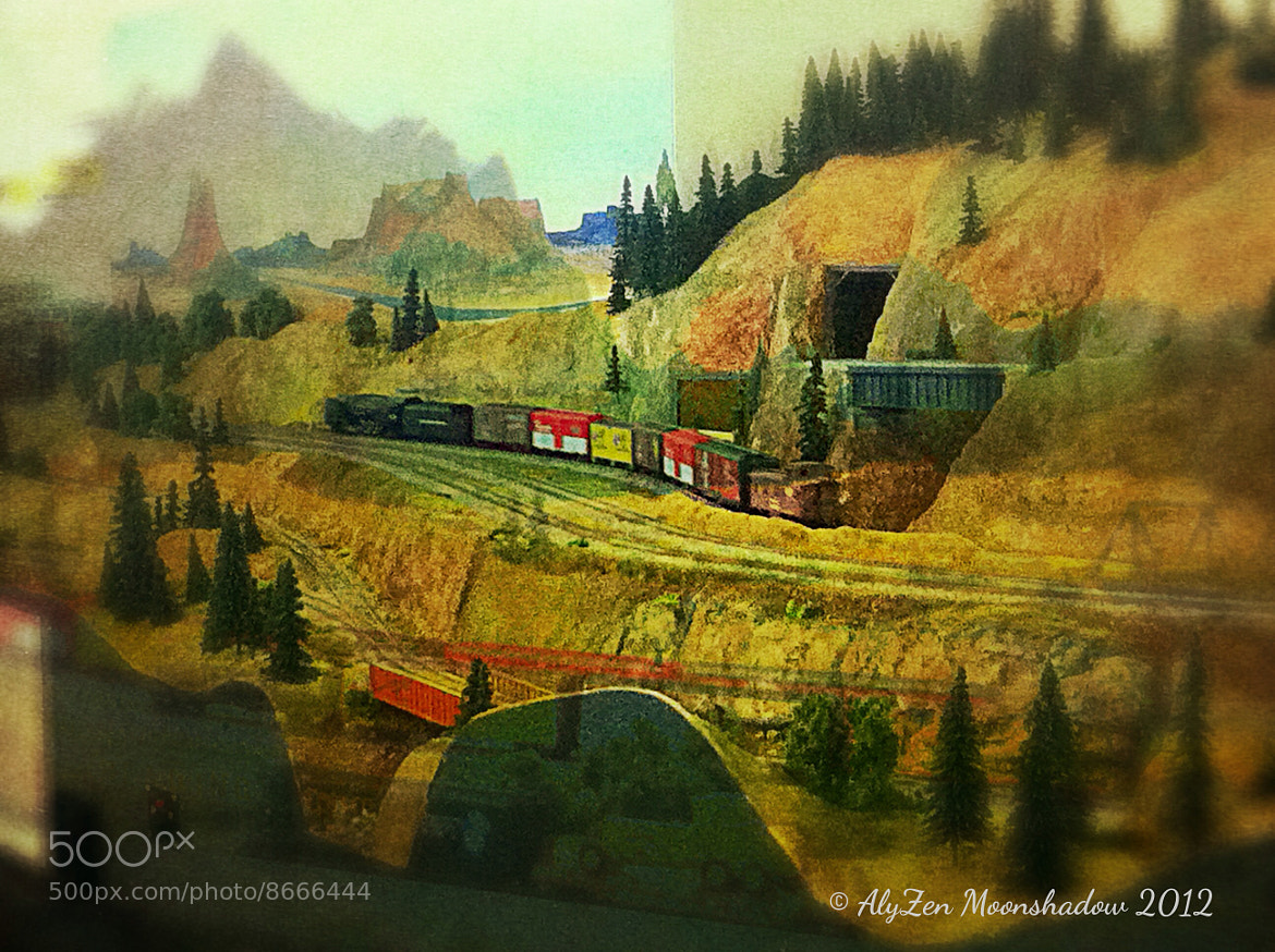 Photograph Gold Rush Train by AlyZen Moonshadow on 500px